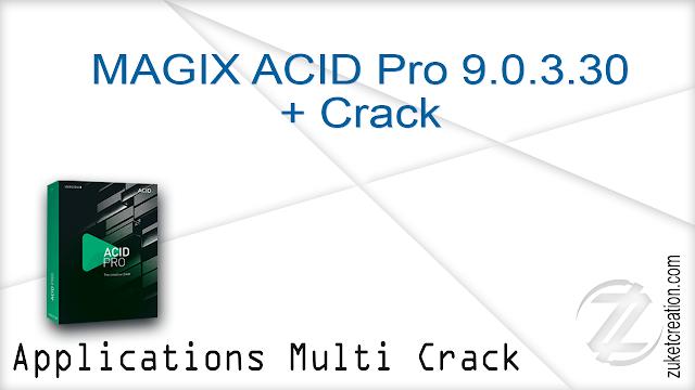 MAGIX ACID Pro 9.0.3.30 + Crack