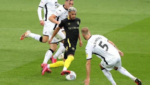 بث مباشر مباراة برينتفورد وسوانزي سيتي اليوم 29-07-2020 التصفيات التأهيلية