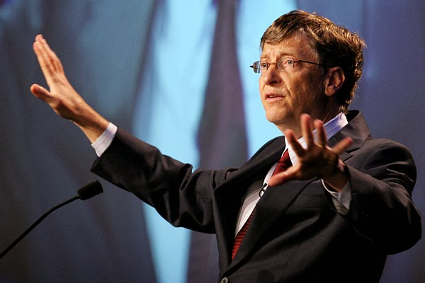 Bill Gates Speaking at World Economic Forum