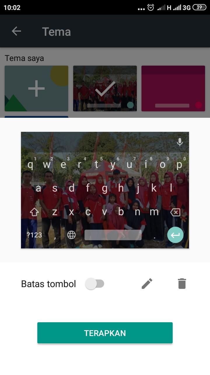 Cara Mengganti Background Keyboard Xiaomi Redmi 4X Dengan Gambar
