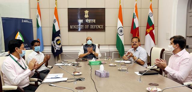 Launch-of-Aero-India-21-website