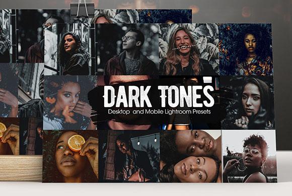 Preset Lightroom Dark tone màu tối(Mobile/Desktop)