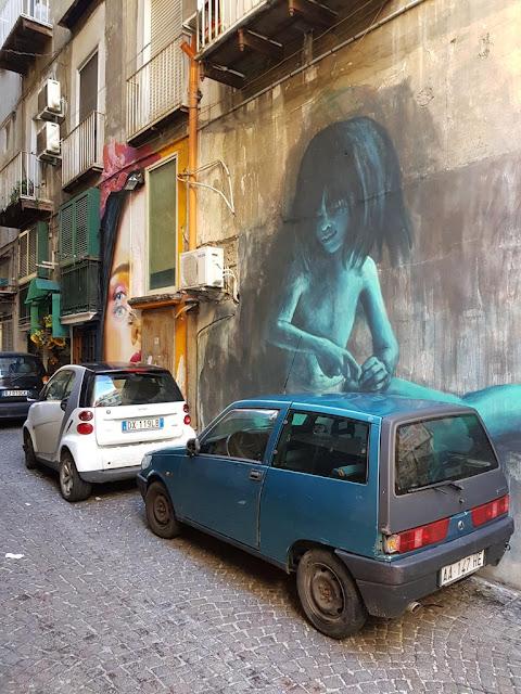 Murales-Rione Vergini-Napoli