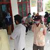 Bhabinkamtibmas Desa Timbuseng Polsek Polut  Kawal Penyaluran BLT – DD Tahap II