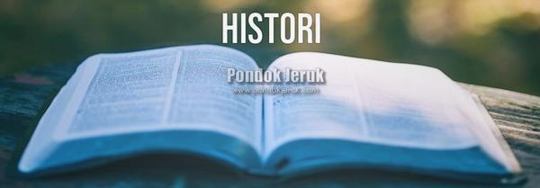 History pondokjeruk.com