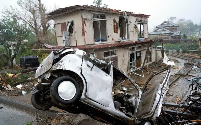 """Тайфуна """"Хагибис"""" остави жертви и ранени по пътя си към Токио (ВИДЕО + СНИМКИ)"""