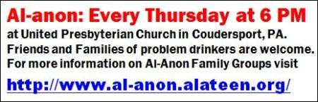 Every Thursday--Al-anon