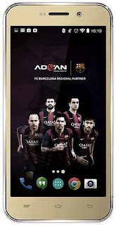 Cara Flashing Advan Barca 5 S5Q Yang Bootloop