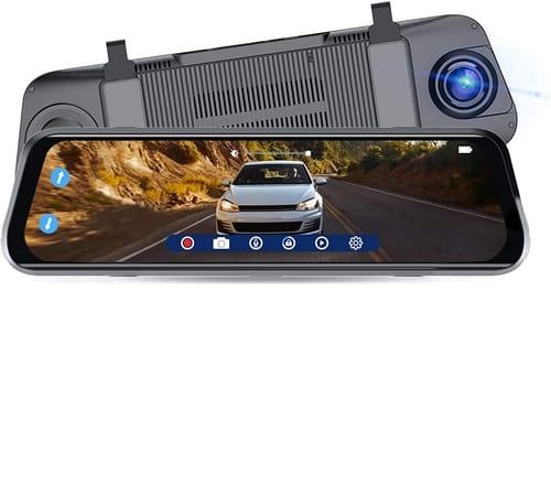 SYLVANIA Roadsight Car Mirror Dash Camera