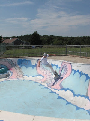 Pool at Wellfleet Skate Park