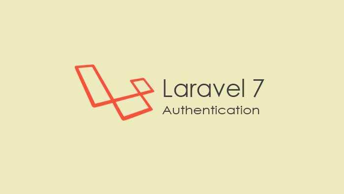 Cara Menggunakan php artisan make:auth di Laravel 7