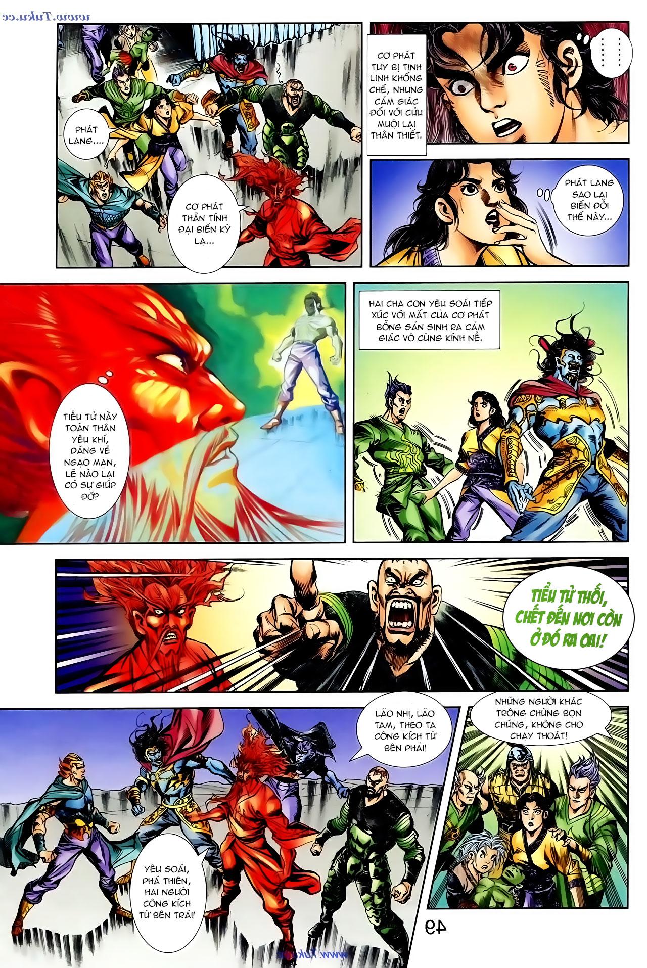 Cơ Phát Khai Chu Bản chapter 100 trang 16