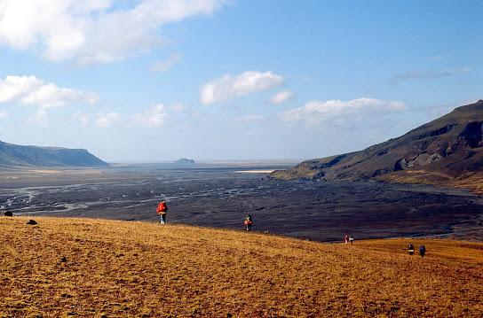 Iceland 1977: the Markarfljot sandur plain