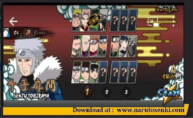 Download Naruto Senki V2.00 by RE Apk Support Android