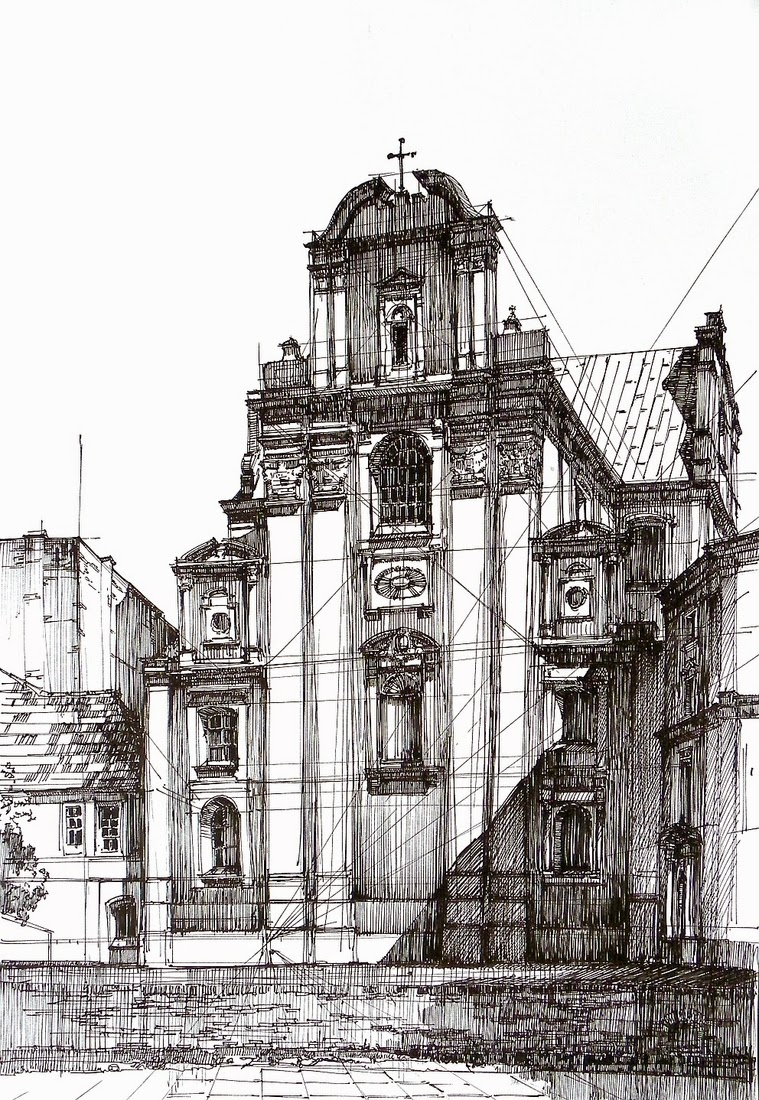 03-Baroque-Church-Łukasz-Gać-DOMIN-Poznan-Architectural-Drawings-of-Historic-Buildings-www-designstack-co