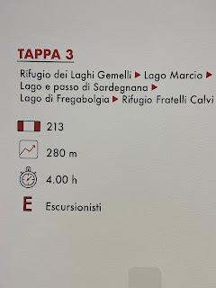 Third leg of Sentiero delle Orobie - Tito Terzi Exhibit