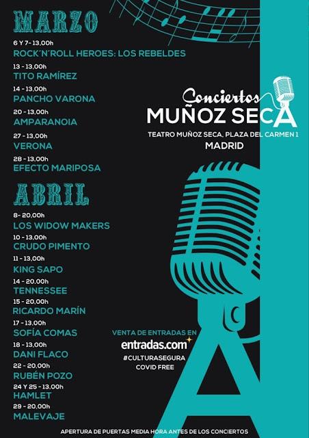 Ciclo de Conciertos en el Teatro Muñoz Seca de Madrid - Alquimia Sonora