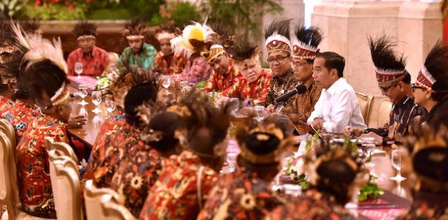 KontraS: Pertemuan Jokowi dengan 61 Tokoh Papua di Istana Hanya Pencitraan
