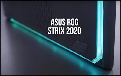 Glowing Gaming Machine: Asus ROG Strix 2020