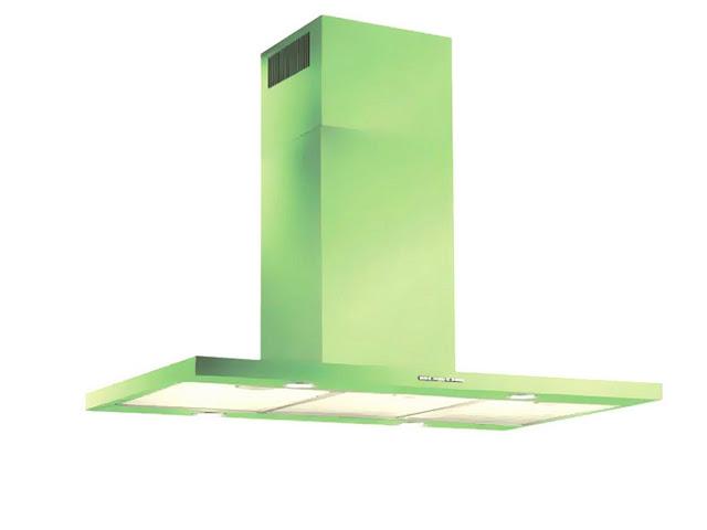 Máy hút mùi Faster QUATTRO GREEN đẹp, lạ, hút hiệu quả nhất