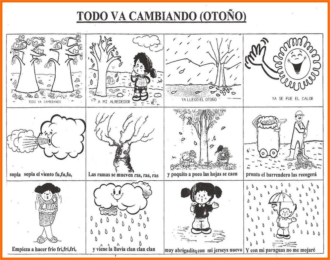 spesso Scuola dell'infanzia – Autunno: conzoncine, attività, pregrafismo  UL46