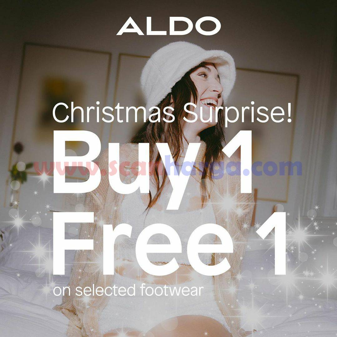 Aldo Shoes Promo Special Chirstmas Surprise –  Buy 1 Free 1 On Selected Footware