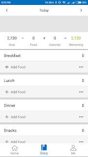 MyFitnessPal Aplikasi Android untuk Diet