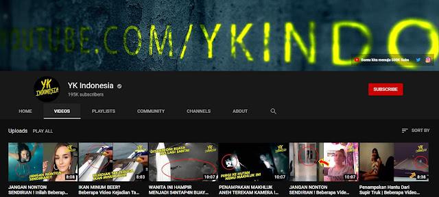 Channel Youtube Horror Indonesia Yang Harus Diketahui Oleh Pecinta Horror