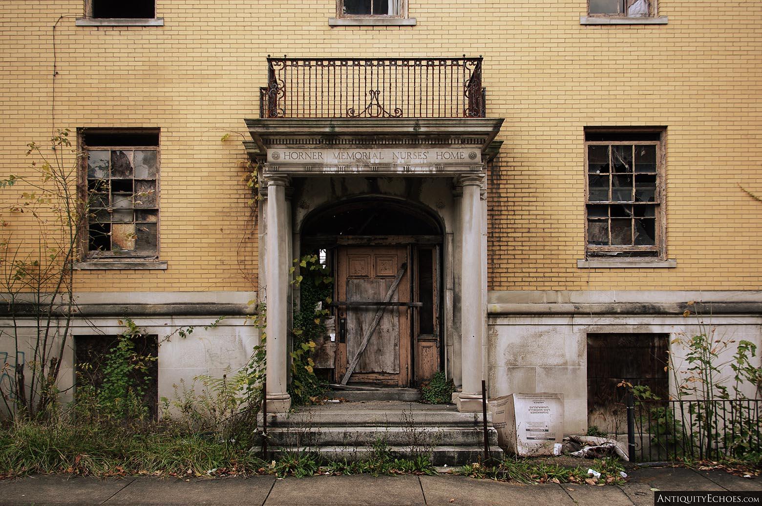Brownsville General Hospital - Nurses' Home Entrance