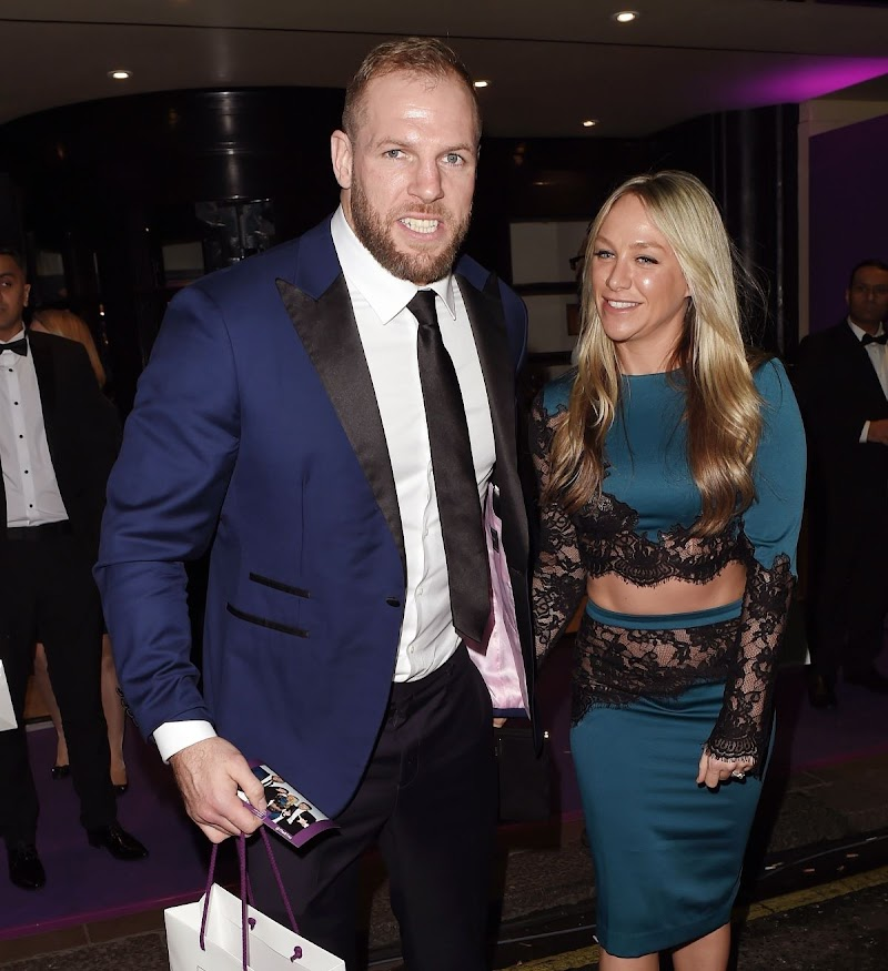 Chloe Madeley and James Haskell Clicks at Takeaway Awards in London  27 Jan-2020