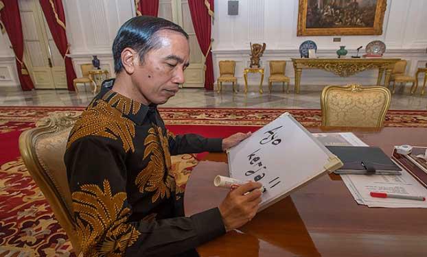 Jokowi: Gak Usah Takut, Saya Gak Diktator Kok