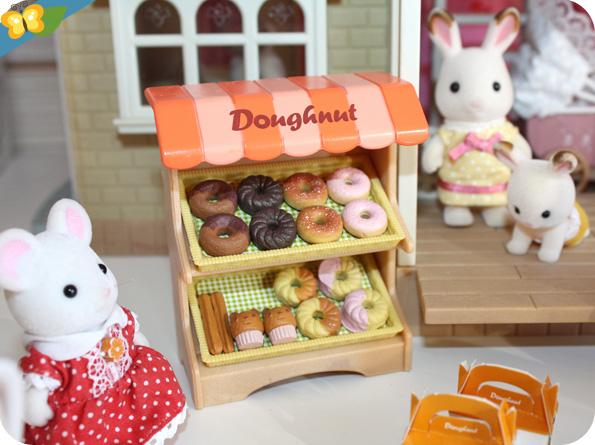 Sylvanian Families - Le stand de donuts