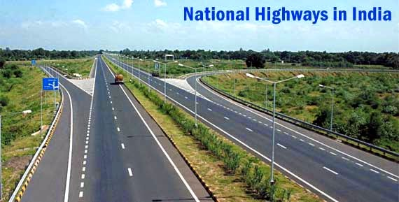 national highways in india - भारत के राष्ट्रीय राजमार्गों की सूची (The Complete List of National Highways in India)