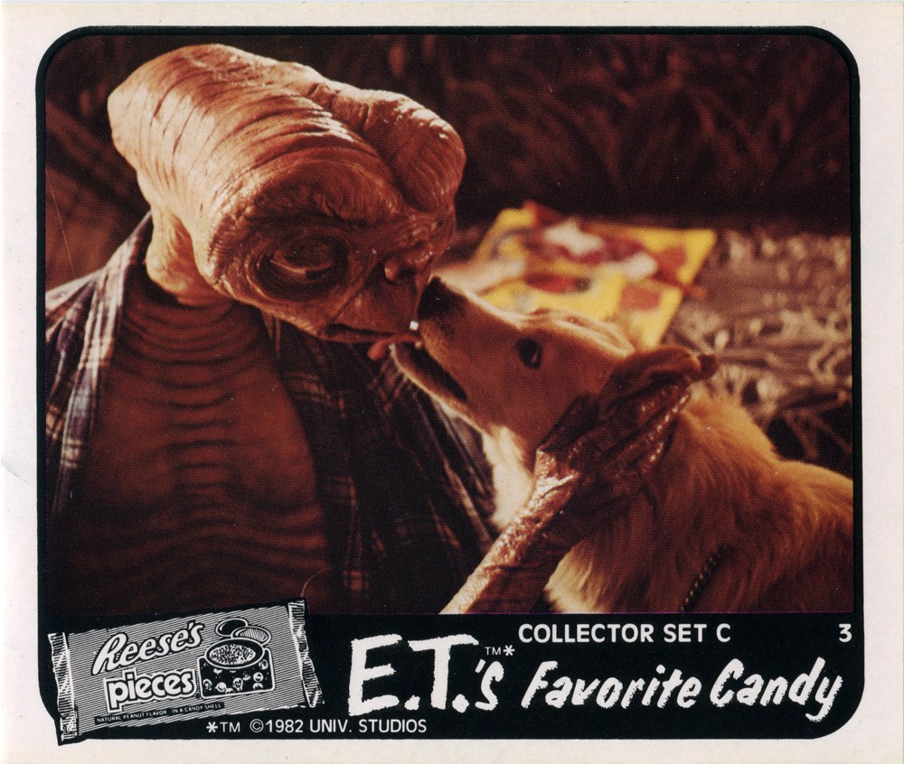 reeses pieces e.t. advert