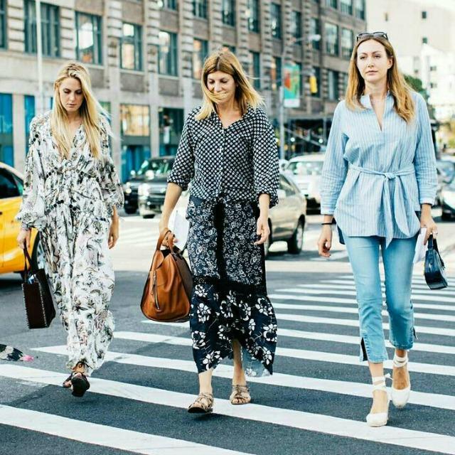 Looks de primavera das fashionistas