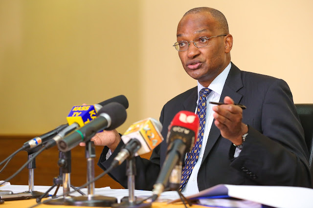CBK Governor Dr Patrick Njoroge