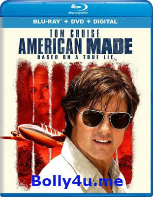 American Made 2017 BRRip 350MB English 480p ESub Watch Online Full Movie Download bolly4u