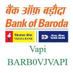 Vijaya Baroda Bank Vapi Branch New IFSC, MICR
