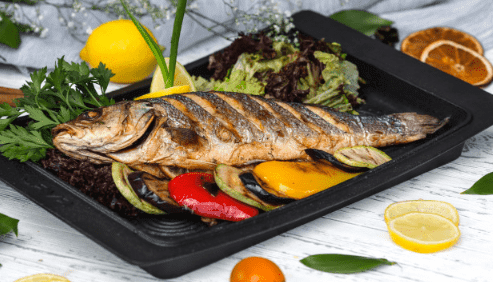 The benefits of fish for the pregnant woman and her baby
