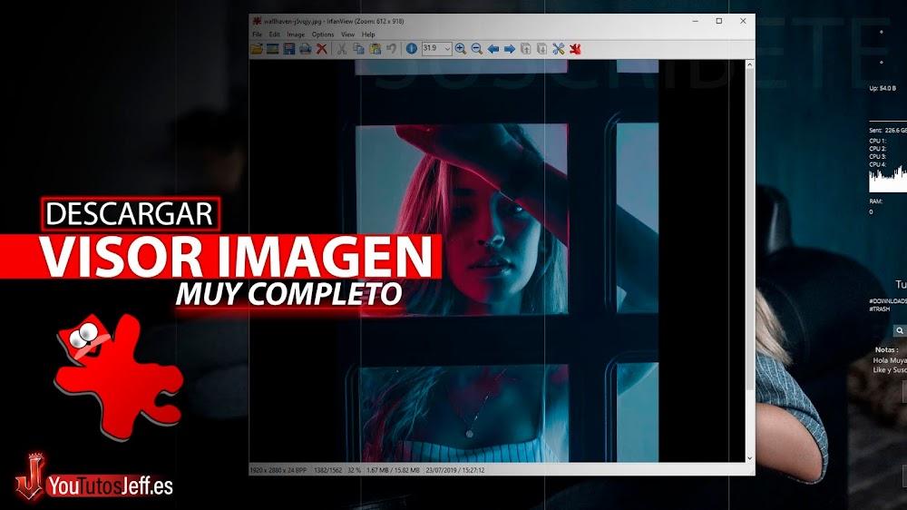Visor de Imágenes para Windows, Descargar IrfanView Ultima Versión