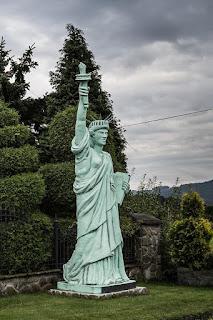 Statua Wolności z Mucharza