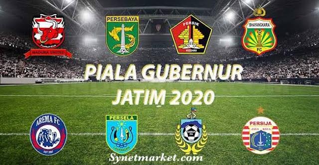 Jadwal Lengkap Piala Gubernur Jatim 2020