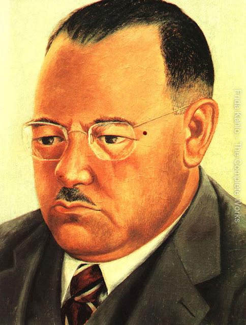 Фрида Кало - Портрет инженера Марте Р Гомес. 1944