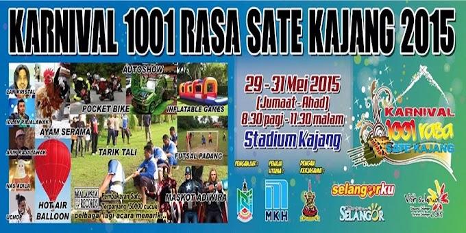 Karnival 1001 Rasa Sate Kajang 2015