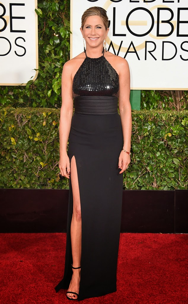 Jennifer Aniston best dressed at Golden Globe Awards 2015