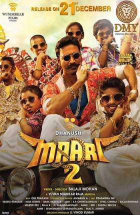 Maari 2 (2018) Hindi Dubbed 350MB HDRip 480p