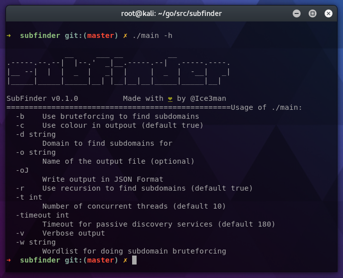 Subfinder - Subdomain Discovery Tool That Can Discover Massive