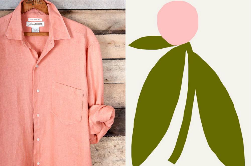 www.katiecrackernuts.blogspot.com.au || linen shirt and simple screen print