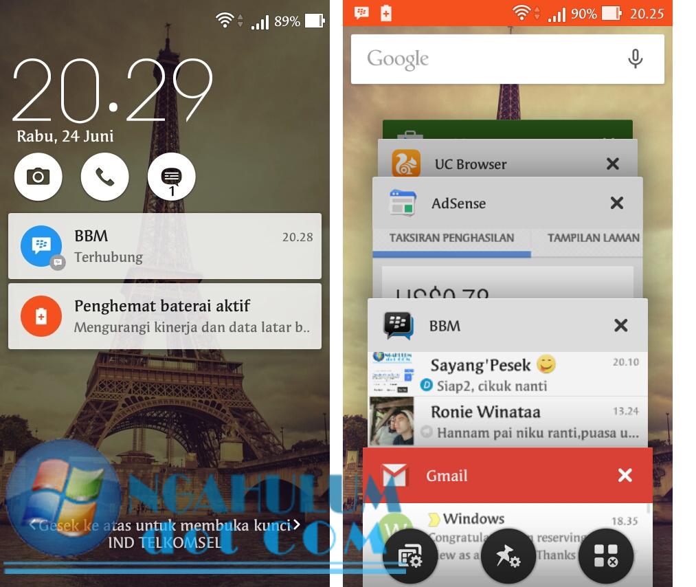 Begini Cara Update Zenfone 4s T00Q ke Lollipop