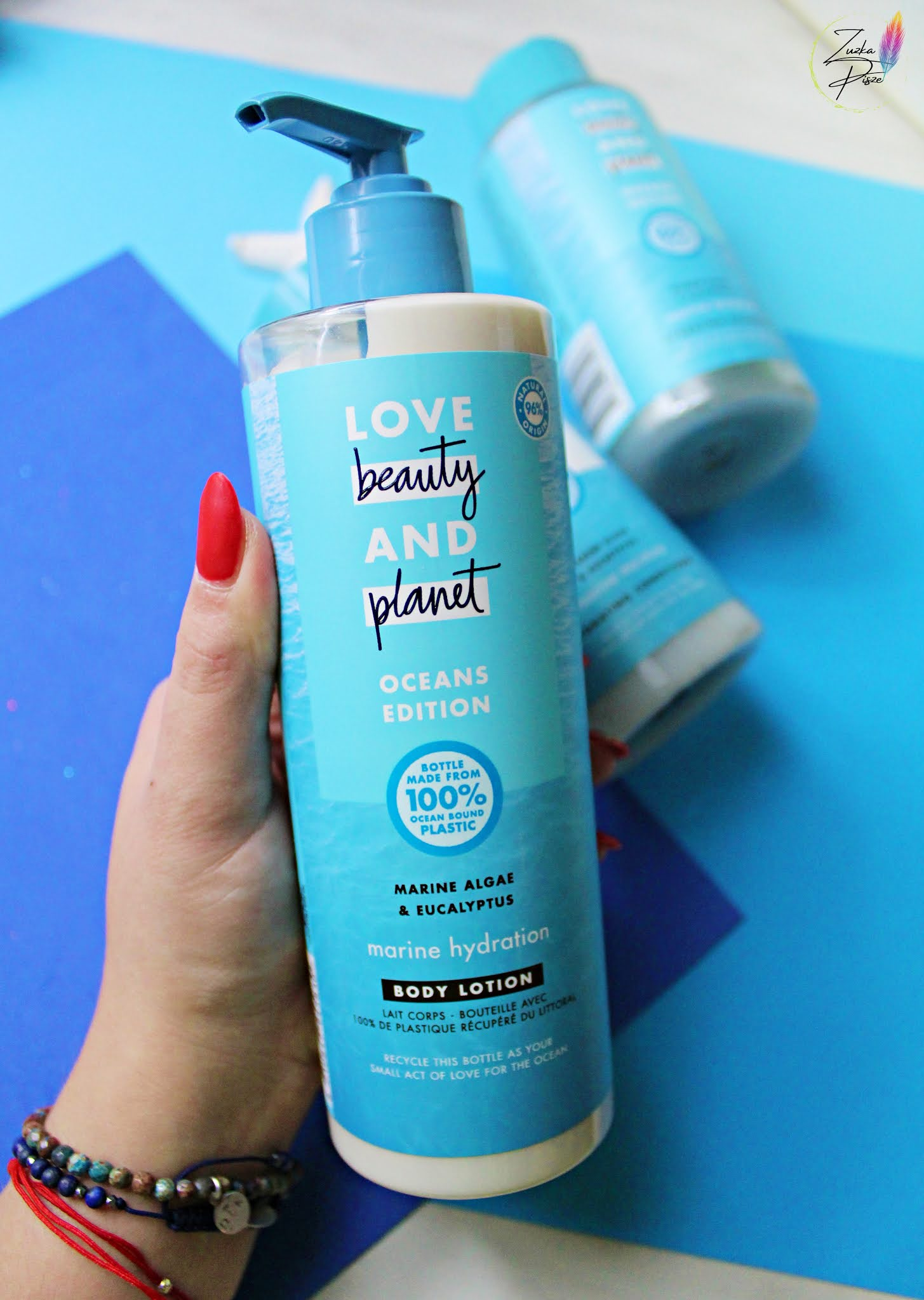 Love Beauty and Planet, Oceans Edition, Marine Hydration, Body Lotion